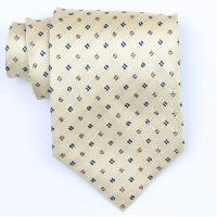 Silk Gold/Brown/Black Extra Long Woven Necktie