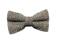 VS815 Tweed Bow Beige / Brown
