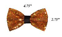 Polyester Bowtie Sequin VS1200 Bowties Gold