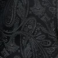 Polyester VS278 Paisley tone on tone Hankerchief Charcoal