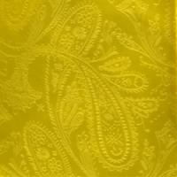 Polyester VS278 Paisley tone on tone Handkerchief Yellow