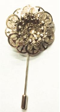 Metal Lapel Pin Flower X-1