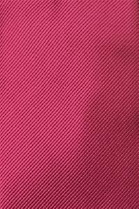 Polyester Regular Necktie Tone on Tone Stripe HOT PINK Color #002 with Handkerchief