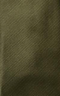 Polyester Regular Necktie Tone on Tone Stripe OLIVE Color #063 with Handkerchief
