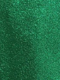 Polyester Regular Neck Tie w/ Handkerchief Metallic Green