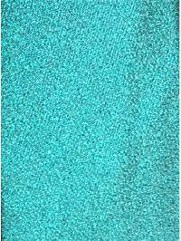 Polyester Regular Neck Tie w/ Handkerchief Metallic Turquoise