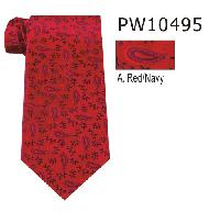 Polyester Regular Necktie Stripe PW10495-A
