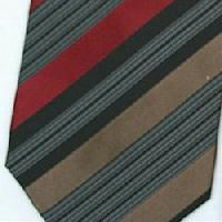 Silk Brown/Black/Tan/Burgundy Extra Long Woven Necktie (Item # : SW431-C-L)