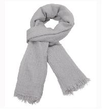 Solid Scarf (Silver)