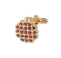 Cufflinks Gold Xk 0023G Red