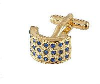Cufflinks Gold Xk 0026G Blue