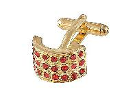 Cufflinks Gold Xk 0026G Red