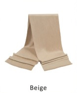 Scarf Solid 71 x 12 in Beige