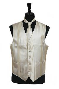 VS4010-Vest/Tie/Bowtie Sets (Champagne Tone on Tone)