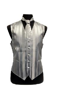 VS4010-Vest/Tie/Bowtie Sets (Silver Tone on Tone)