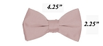 Polyester Satin Boy's Bowties Pearl Pink