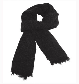 Solid Scarf (Black)