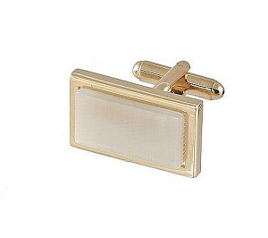 Cufflinks Gold My 0002G Pearl