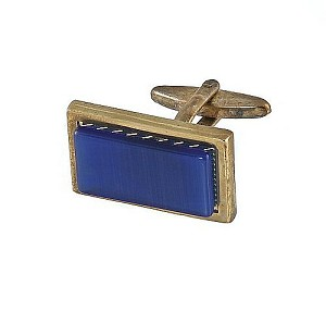 Cufflinks Gold My 0002G R.Blue