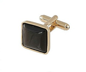 Cufflinks Gold My 0024G Brown
