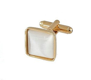 Cufflinks Gold My 0024G Pearl