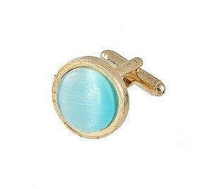 Cufflinks Gold My 0025G Turquoise