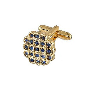 Cufflinks Gold Xk 0023G Blue