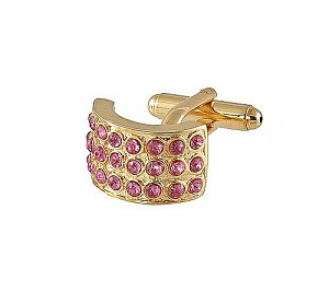 Cufflinks Gold Xk 0026G Pink