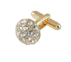 Cufflinks Gold Xk 0068G Diamond