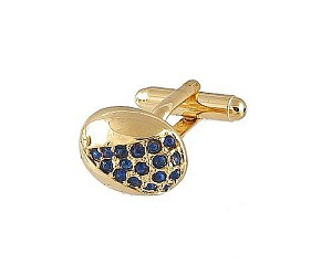 Cufflinks Gold Xk 0078G Blue