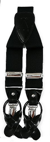 Suspender Y-Back Black